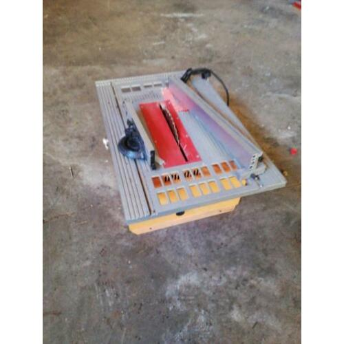 Platen Zaagmachine tafel model