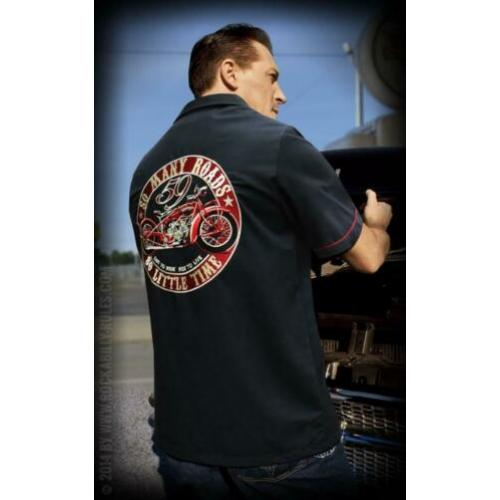 Rumble 59 worker shirt so many roads this cool worker shirt