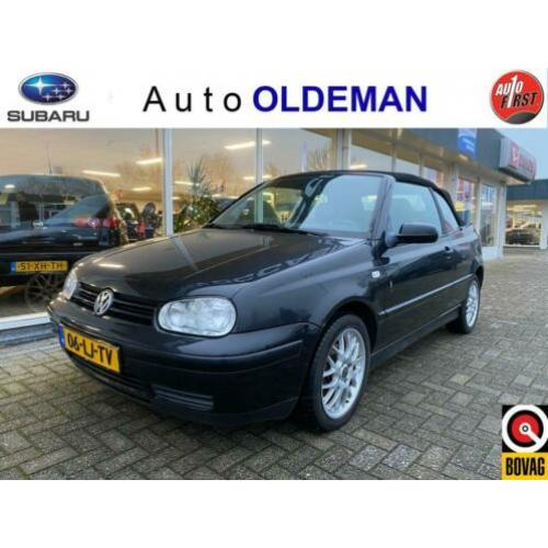 Volkswagen Golf Cabriolet 2.0 Highline (bj 2000)