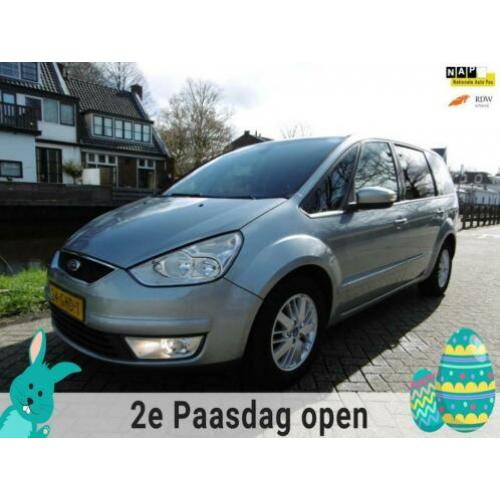 Ford Galaxy 2.0 TDCi Ghia 6 bak 140pk 7 pers Clima Cruise On