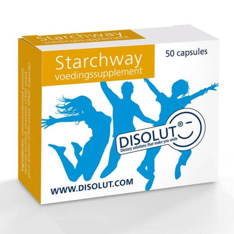 STARCHWAY 50 capsules.